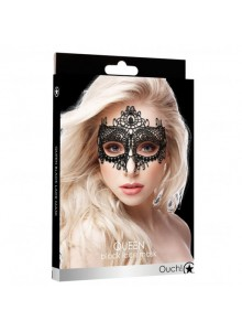OUCH! Queen Black Lace Mask